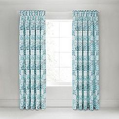 Bedeck 1951 - Green 'Verona' curtains
