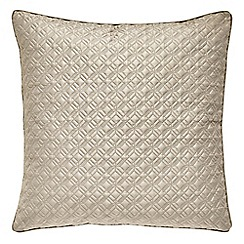 Hotel - Natural patterned 'Merton pillow sham