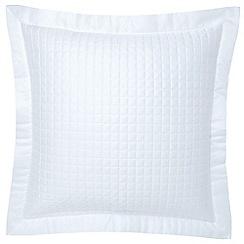 Fable - White 'Merle' cushion