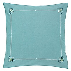 Echo - Blue 'Parvani' pillow sham