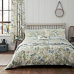 Sanderson - pale blue 'Abbeville' bedding set