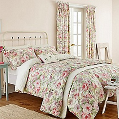 Sanderson - multicoloured 'Amelia Rose' bedding set
