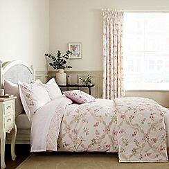 Sanderson - Pink 'Anna Maria' bed linen