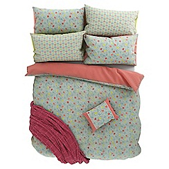 Helena Springfield - Light blue polycotton 'Belle' bedding set