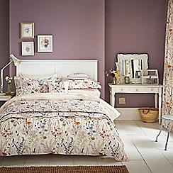 V & A - Multicoloured cotton 'Blythe Meadow' bedding set