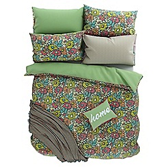 Helena Springfield - Multicoloured polycotton 'Bonnie' bedding set