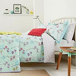 Helena Springfield - Aqua 'Buttercup' bed linen set