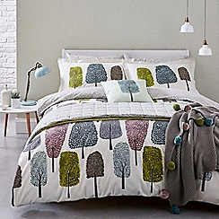 Scion - Multicoloured cotton 'Cedar' bedding set