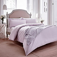 Helena Springfield - Lilac gingham check 'Chatsworth' bedding set