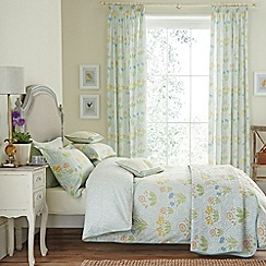 V & A - Aqua 'Cowslip' bed linen set