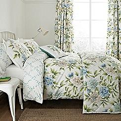 Sanderson - Aqua 'Ella' bed linen set