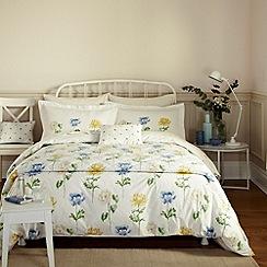 Sanderson - Blue 'Hana' bed linen