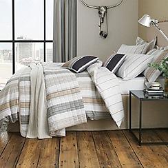Helena Springfield - Taupe 'Regatta' bed linen set