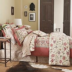 V & A - Multi 'Kalamkari' bed linen
