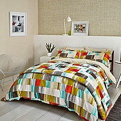Scion - Multicoloured cotton 'Navajo' bedding set