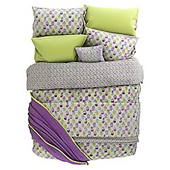 Helena Springfield - Purple polycotton 'Polly' bedding set