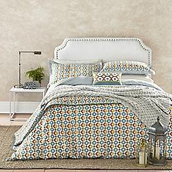 V & A - Multicoloured patterned 'Pompeii' bedding set