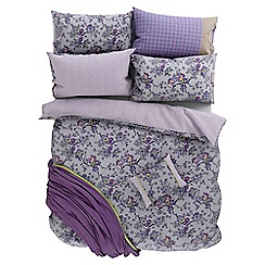 Helena Springfield - Purple polycotton 'Sally' bedding set
