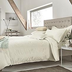 Helena Springfield - Ivory 'Siena' bed linen set