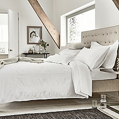 Helena Springfield - White 'Siena' bed linen set