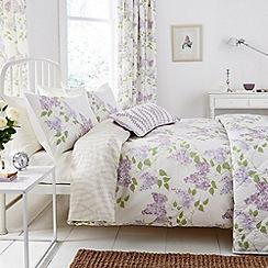 Sanderson - Lilac 'Lilacs' bed linen