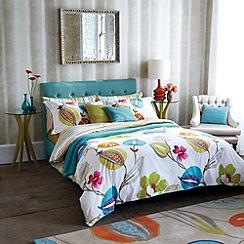 Harlequin - Turquoise 'Tembok' bed linen set