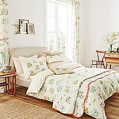V & A - Multicoloured 'Voysey's garden' bed linen set