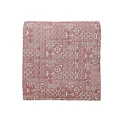 Bedeck 1951 - Red cotton 'Akello' quilted bedspread