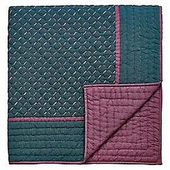 Bedeck 1951 - Multicoloured cotton 'Alba' throw