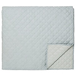 Fable - Light blue quilted 'Callista' bedspread
