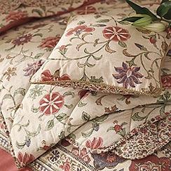 V & A - Multi 'Kalamkari' cushion & throws