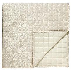 Bedeck - Natural 'Kaveri' bedspread