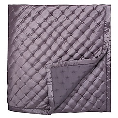 Bedeck - Lilac 'Lucca' throw