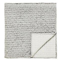 Bedeck - Silver 'Miramar' bedspread