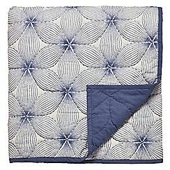 Bedeck 1951 - Dark blue cotton 'Renata' throw