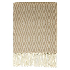 Hotel - Natural 'Belmont' throw