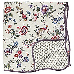 V & A - Multicoloured 'Birds of Paradise' throw