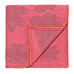 Scion Kids - pink 'Bloomin Lovely' throw