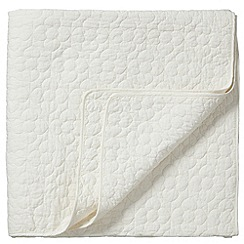 Bedeck - Ivory 'Bliss' throw