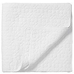 Bedeck - White 'Bliss' throw