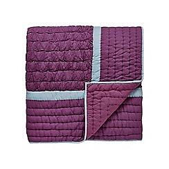 Bedeck 1951 - Dark pink cotton 'Daya' bedspread