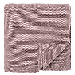 Fable - Mauve 'Elba' throw