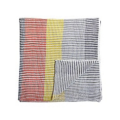 Helena Springfield - Multicoloured acrylic 'Eva' knitted throw