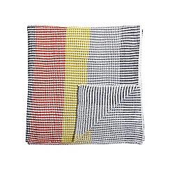 Helena Springfield - Multicoloured acrylic 'Eva' knitted throw