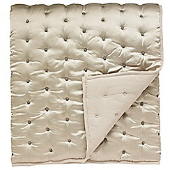 Harlequin - Taupe 'Florence' throw