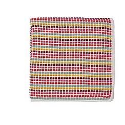 Scion - Multicoloured acrylic 'Fritilla' knitted throw