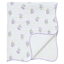 Helena Springfield - Lilac 'Georgie' throw
