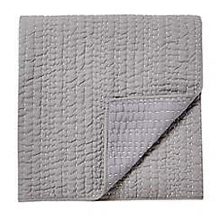 Harlequin - light grey 'Gigi' throw