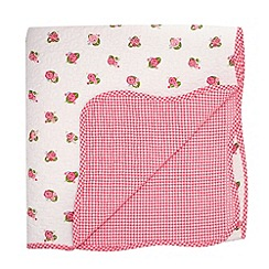 Julie Dodsworth - Red 'Heart & Soul' throw