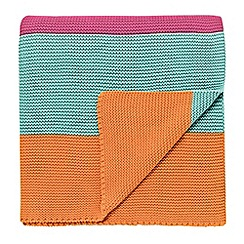 Scion Kids - multicoloured 'Hello Dolly' throw